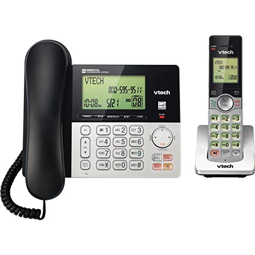 CS6949 Corded Cordless 2-Handset Telephone System with Dual Caller ID ()