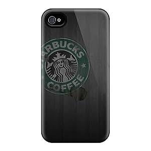 Iphone 4s GYw424s5GkSj Unique Design High Resolution Starbucks Skin Anti-Scratch Hard Cell-phone Cases -JamieBratt