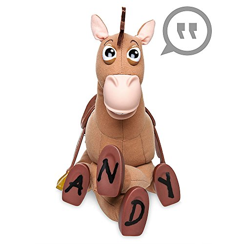 Disney Bullseye Plush Figure with Sound - Toy -