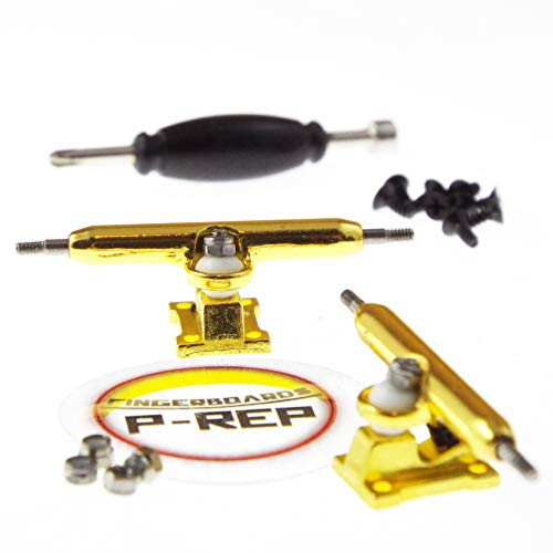 P-REP 34mm Solid Performance Trucks (Gold)