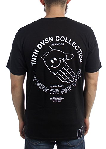 shirt T Deep 10 Pour Black Homme Bq4E4n5Yx7
