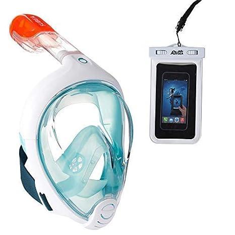 ADVSEA TRIBORD/SUBEA Easybreath Máscara de Snorkel de Cara ...
