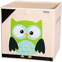 "Hurricane Munchkin Toy Storage Box | Bin Organizer to Store Children Toys, Stuffed Animals, Books & Clothes (13"" x 13"" x 13"") | Great for Nursery, Kids Bedroom & Playroom"