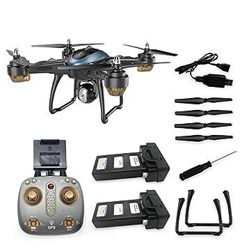 Amandai LH-X38GWF cámara Dual GPS WiFi Drone Drone FPV 1080P RC ...