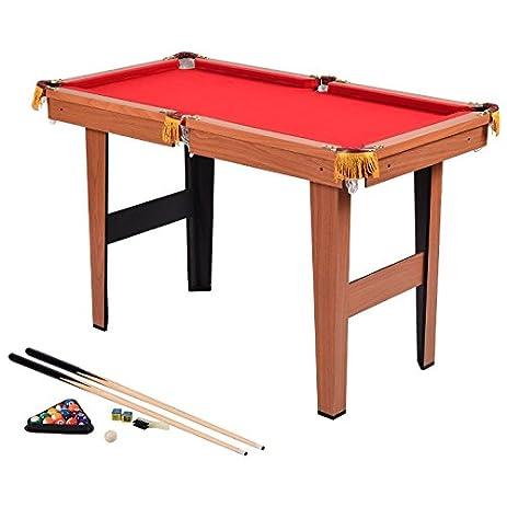"48"" Mini Billiard Pool Table Set Cues Balls Brush Rack Billiard Chalk  36"" Pool"