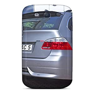 Faddish Phone Silver Ac Schnitzer Bmw Acs5 Touring Rear Section Case For Galaxy S3 / Perfect Case Cover