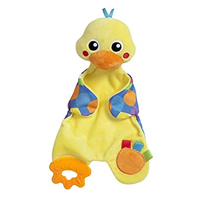 Playgro Snuggle Duck Comforter for Baby Infant Toddler Children 0186348, Playgro is Encouraging Imagination with STEM/STEM for a Bright Future - Great Start for a World of Learning : Baby