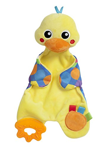 Playgro Snuggle Duck Comforter for Baby Infant Toddler Children 0186348, Playgro is Encouraging Imagination with STEM/STEM for a Bright Future - Great Start for a World of ()