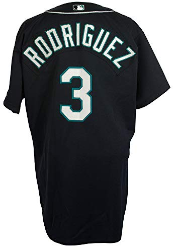 (Alex Rodriguez Game Used Seattle Mariners 2000 Alternate Jersey Mears A10 LOA)