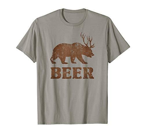 Vintage Bear Deer Dark Beer Funny ()