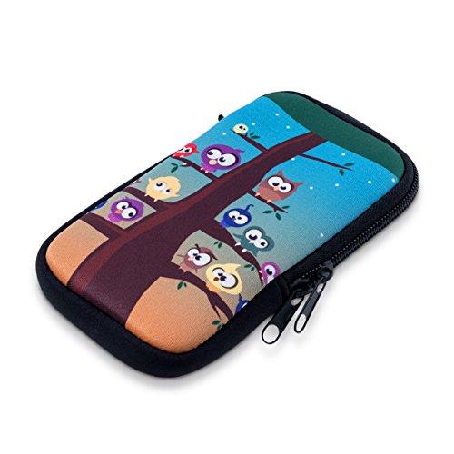 kwmobile phone bag neoprene sleeve for smartphones M - 5,5