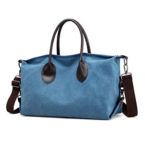 Coffee Solid Tela Borsa Sky Stile Blue Color Grigia Boston Quadrata In Con Vintage A color Bulk Tracolla zzBOq