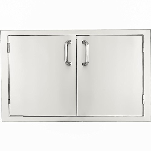BBQGUYS Kingston Series 48-Inch Stainless Steel Double Access Door
