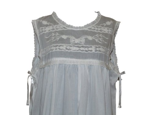 The Original Lace Co. England - Chemise de nuit - Femme Blanc Blanc