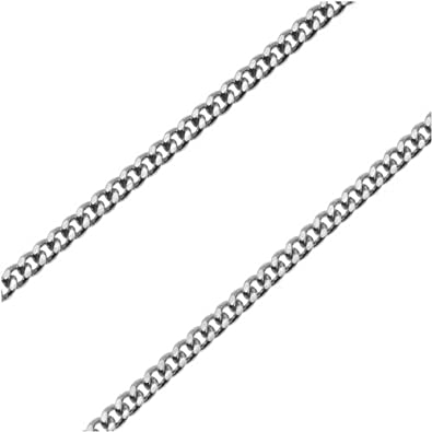Beadaholique Stainless Steel 1.8mm Curb Chain 24 in Necklace Endless