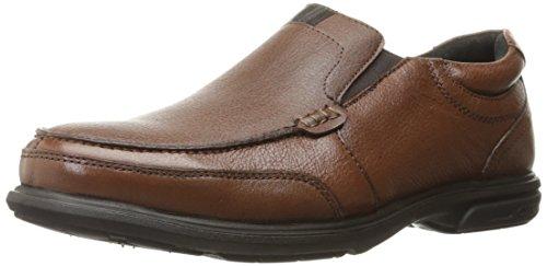 Nunn Bush Men's Carter Slip-On Loafer, Brown, 11.5 M US (Nunn Bush Slip Resistant)