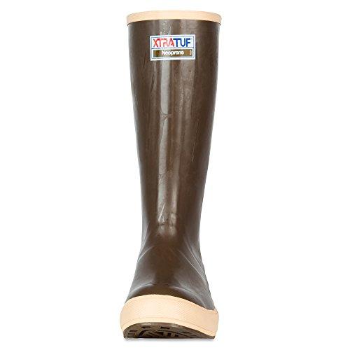 "XTRATUF Legacy Series 15"" Neoprene Men's Fishing Boots, Copper & Tan (22272G) 2"