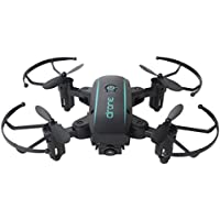 Nesee Mini Wifi FPV 0.3MP Camera Foldable 2.4G 6-Axis Selfie Quadcopter Drone Toys