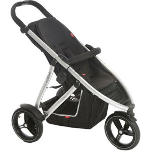 Phil and Ted's Vibe Baby Buggy in Black and ()
