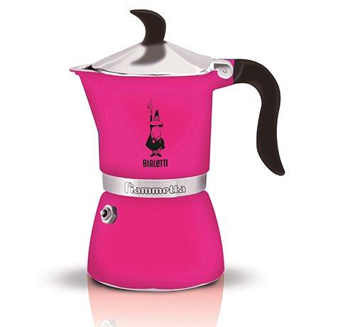 Bialetti 5352 Fiammetta Espresso Maker, Fuchsia ()