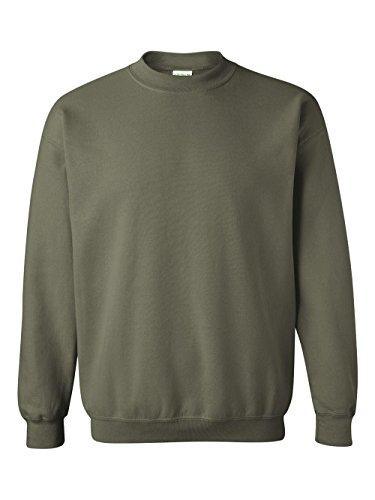(Gildan Men's Heavy Blend Crewneck Sweatshirt - X-Large - Military Green)