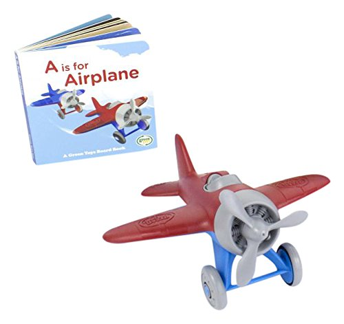 Green Toys Airplane & Board - Green Toys Airplane