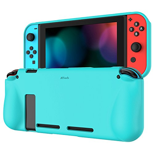 JETech Protective Case for Nintendo Switch 2017, Grip Cover with Shock-Absorption and Anti-Scratch Design - Cover Switch