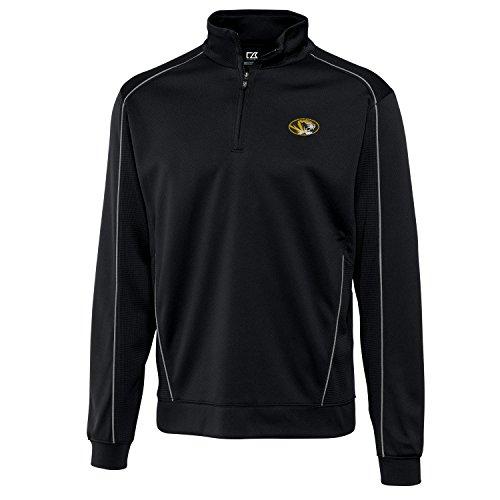 NCAA Missouri Tigers Men's Edge Half Zip Jacket, X-Large, (Tigers Mens Cutter)