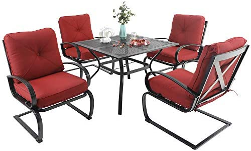 MFSTUDIO Patio Dining Set