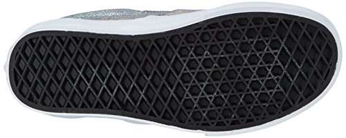 VansU CLASSIC SLIP-ON MATTE IRIDESCENT - Zapatillas Unisex adulto multicolor - Mehrfarbig ((Matte Iridescent) silver)