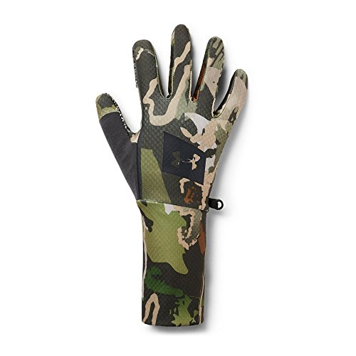 Under Armour Men's Hunt Liner Gloves, UA Forest Camo (940)/Black, - Under Gloves Hunting Armour