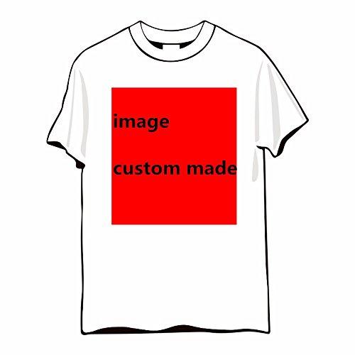 Vestiti Stampa T T Sau shirts Semi shirt Con Xiaogege Xl Pari Custom xl T 100 Tee Foto Bianca manicotto Cotone w74nq06