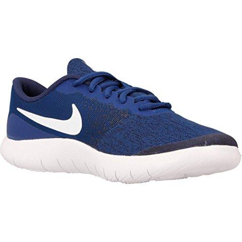 Nike Flex Contact GS, Zapatillas Deportivas Para Interior Para Niñas Azul