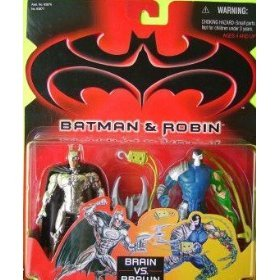 Batman & Robin Brain Vs. Brawn Batman & Bane Set