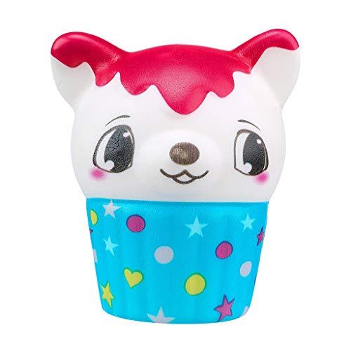 Celiy  Kawaii Adorable Ice Cream Deer Slow Rising Cream Scented Stress Toys