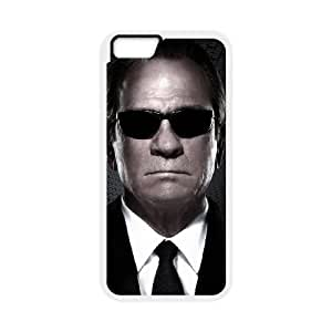 iPhone6 Plus 5.5 inch Phone Cases White Men in Black DTG155302
