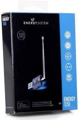 Energy Sistem TDT T1250 HDTV - Mini sintonizador y Grabador TDT USB (USB, MPEG2, MPEG4/H264)
