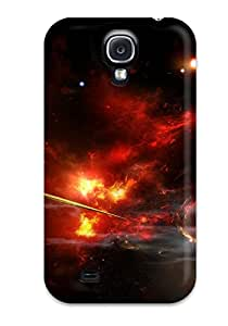 2015 New Super Strong Spaceship Tpu Case Cover For Galaxy S4