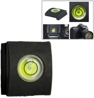 Black CAOMING Hot Shoe Spirit Level Cover Protector Durable