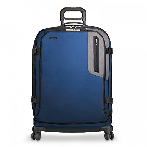 Briggs & Riley Brx Explore Large Expandable Spinner, Blue by Briggs & Riley
