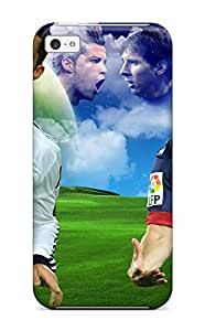 Iphone High Quality Tpu Case/ Lionel Messi Vs Cristiano Ronaldo RlyTe3483aqkIX Case Cover For Iphone 5c