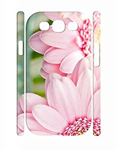 Cool Girly Floral Print Dust Protection Phone Case for Samsung Galaxy S3 I9300 by supermalls