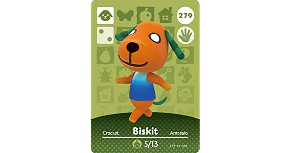 Amazon Com Biskit Nintendo Animal Crossing Happy Home Designer