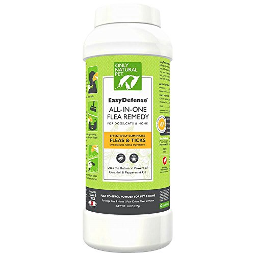 Flea Remedy - Natural Flea Treatment Control Powder For  Cats