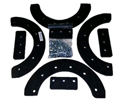 Snow Thrower Paddle Set 20 21 Or 22 FITS Murray Craftsman 302565ma HARDWARE INCLUDED 68 Pcs