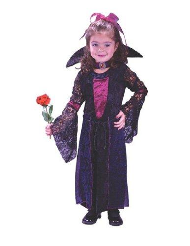 [Vamptessa Costume Toddler Girl - Toddler 3-4] (Toddler Vampire Halloween Costumes)
