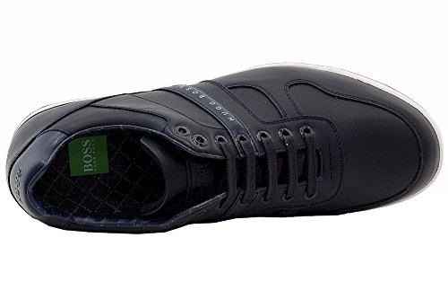 Hugo Boss Hombres Arkansas_lowp_lt Zapatillas Moda Azul Oscuro Zapatos Azul Oscuro
