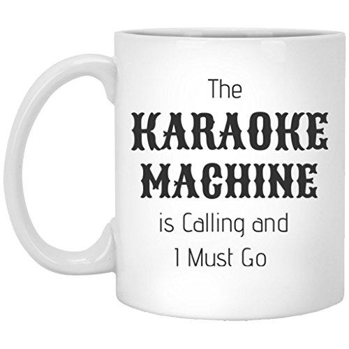 Karaoke Mug Coffee Cup Funny Novelty Gift 11 oz.