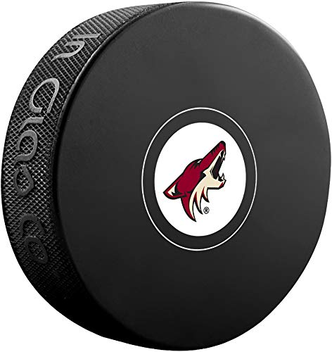 Arizona Coyotes Unsigned InGlasCo Autograph Model Hockey Puck - Fanatics Authentic Certified - Autographed NHL Pucks from Sports Memorabilia