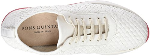 03 002 Mujer Pons Milk para Quintana Zapatillas 7030 Beige EE7Wn8qRF